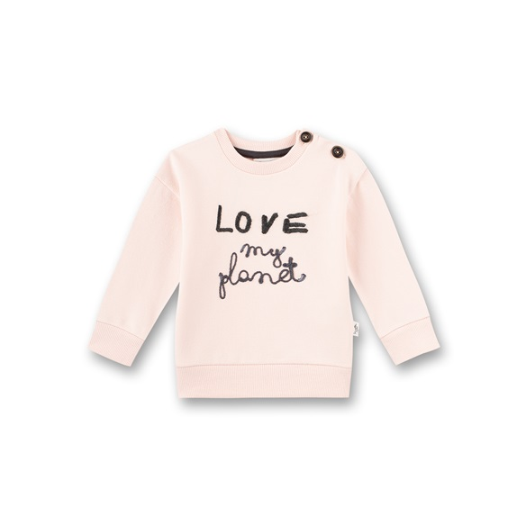 Sanetta Sweatshirt Love my Planet